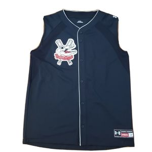 Under Armour Navy Tailgaters Mens SLEEVELESS Jerse